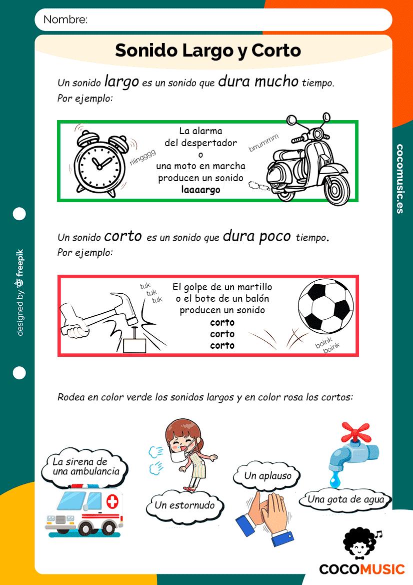 Sonido Largo y Corto (Teórico-Práctica)