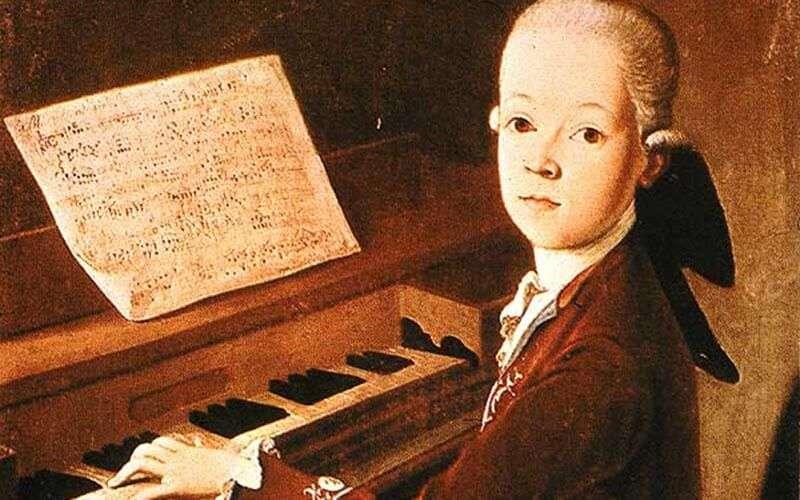 Mozart niño prodigio
