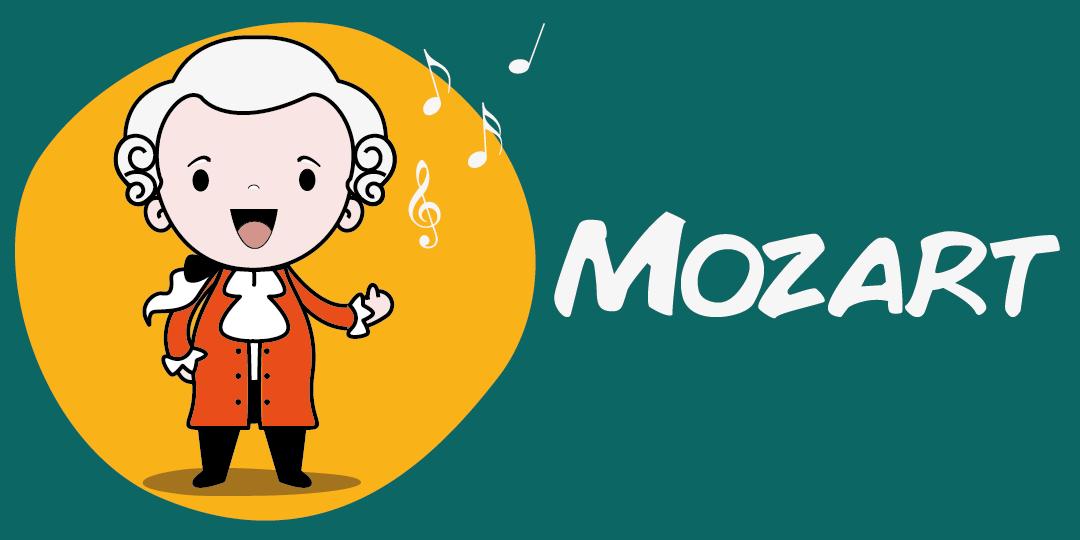 Biografía de Mozart para niños de Primaria