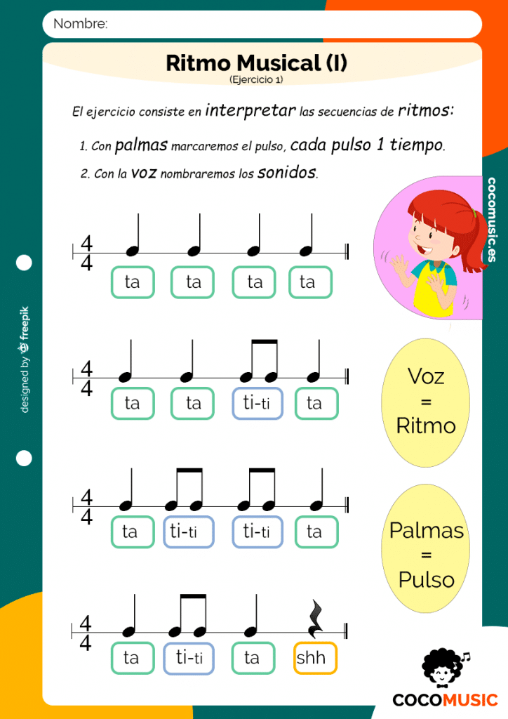 Ritmo Musical (Ejercicio 1)