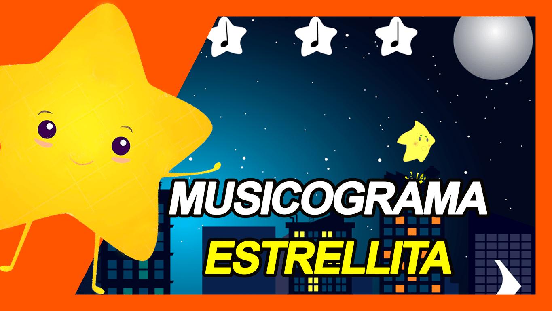 Musicograma Estrellita dónde estás
