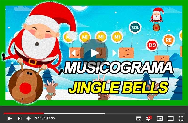 Musicograma Navidad Jingle Bells