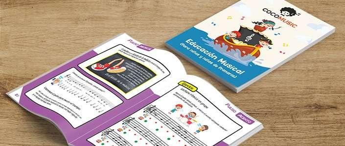 Libro de música para niños y niñas de primaria