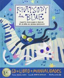 libro rapshody in blue portada