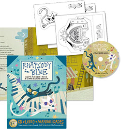 libro rapshody in blue manualidades